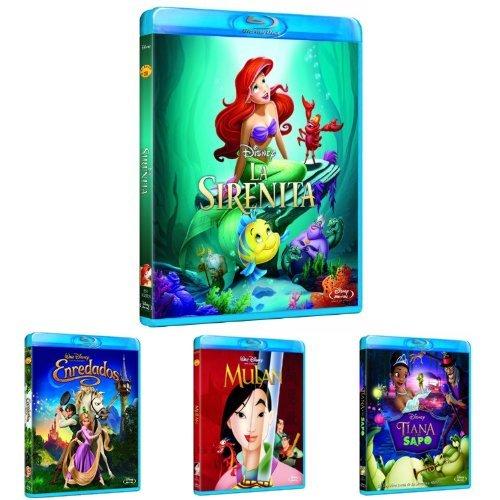 Pack Princesas Disney (La Sirenita +...