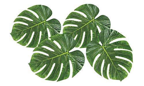 Boland 52210 4 Palmenblätter, One Size (Thema Karibik Party Dekorationen)