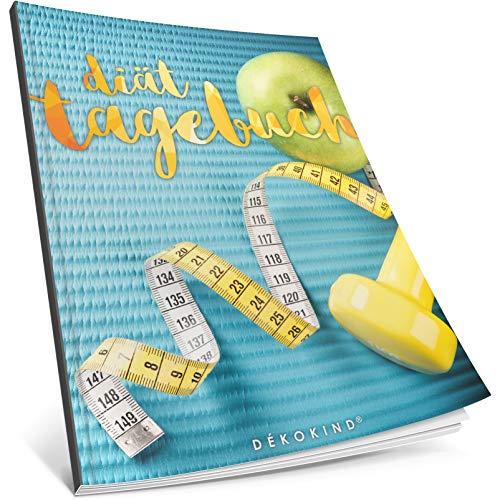 Dékokind® Diät-Tagebuch: Clevere 90 Tage Challenge zum Abnehmen || Das Abnehmtagebuch / Ernährungstagebuch zum Ausfüllen || C_26