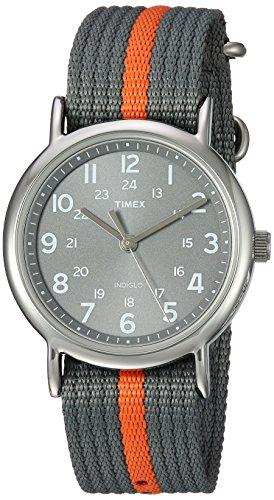 51waBF%2B8v7L - Timex T2N649 Weekender Indiglo Grey watch