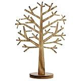 Deko-Baum aus Holz, 60 cm hoch, braun