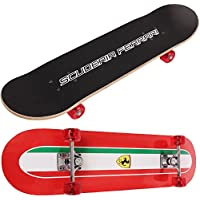 Official Ferrari Professional Maple Wood Skateboard Skating Complete Deck Board Childrens Kids Teen Pro Skate Board Outdoor Double Tilt