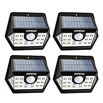 Mpow Version Avanc E Lampe Solaire 4 Pack 20 Led Etanche