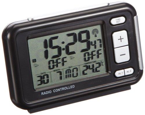TFA 60.2500 - Despertador radiocontrolado termómetro