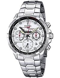 Festina Herren-Armbanduhr Chronograph Quarz Edelstahl F6836/1