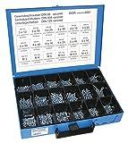 Dresselhaus 8561 - Estuche con tornillos surtidos (galvanizados)