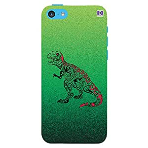 Dinosaur - Mobile Back Case Cover For Apple Iphone 5C