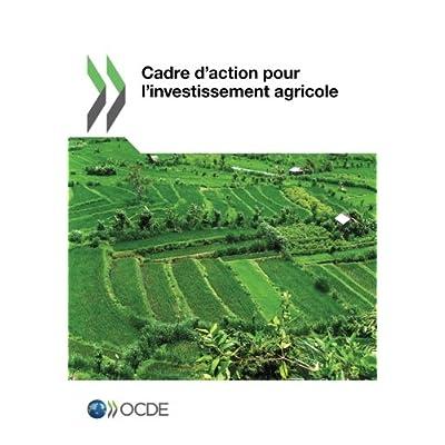 Cadre d'action pour l'investissement agricole