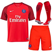 Paris Saint Germain Away Kit Shirt Shorts & Socks