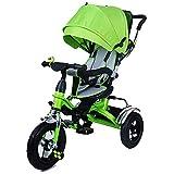 SSLC Tricycle Enfant Baby 4 en 1 Trike Evolutif Velo Bébé Poussette Canne...
