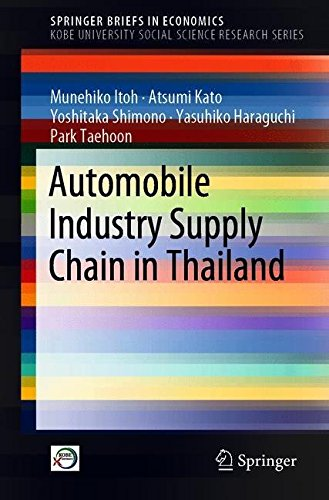 Automobile Industry Supply Chain in Thailand (SpringerBriefs in Economics)