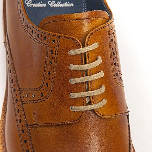 Barker Mens Bailey Zapatos De Cuero Cedar Calf