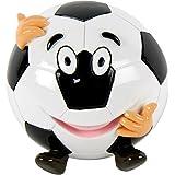 Spardose Fußball  Polyresin mit Stöpsel