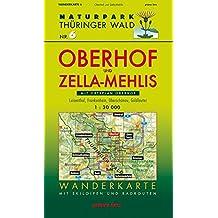 Wanderkarte Oberhof und Zella-Mehlis: Mit Ortsplan Oberhof und Plan Rennsteiggarten. Mit Luisenthal, Frankenhain, Oberschönau und Goldlauter. Mit ... Thüringer Wald / Wanderkarten. 1:30.000)