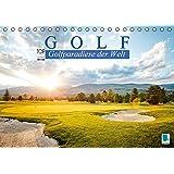 Golf: Golfparadiese der Welt (Tischkalender 2016 DIN A5 quer): Wie gemalt – Golf- und Landschaftsarchitektur (Monatskalender, 14 Seiten) (CALVENDO Sport)