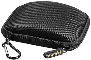 mumbi Tasche für Navigon 40 2er 3er 4er max / Falk F6 F12 etc. Navigationsgeräte mit 10,9 cm (4,3 Zoll) Display schwarz