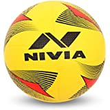 Nivia Rotator Moulded Rubber Volleyball, Adult Size 4 (Yellow)