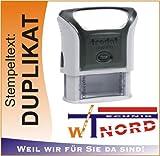 Trodat Printy 47x 18mm schwarz Stempel–Stempel (schwarz)
