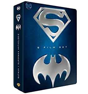 Batman / Superman - Coffret 9 films [Coffret métal]