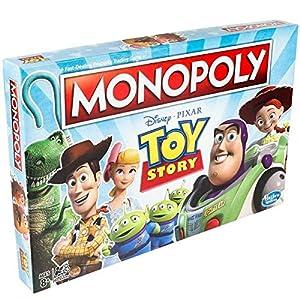 Monopoly-Juego de Societe Monopoly Toy Story-Juego de Bandeja-Version Francesa