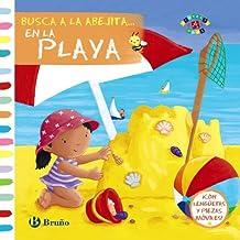 Busca a la abejita... En la playa (Castellano - A Partir De 0 Años - Proyecto De 0 A 3 Años - Libros Manipulativos)