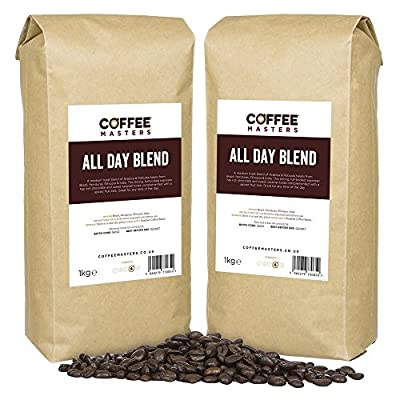 Coffee Masters All Day Blend Espresso Coffee Beans (4x1kg)