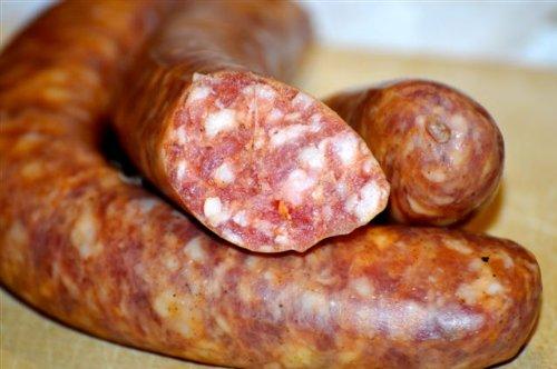 winklerswurst geräucherte Bratwurst mit Paprika (ca. 300g)