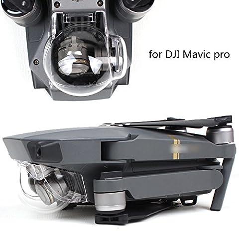 Flycoo Gimbal Cover Cap Housse Protecteur de Nacelle Caméra Protection Clair ND4 ND8 ND16 ND32 Capot Filtre de Lentille Gradateur Lens filter pour DJI Mavic Pro (Clear)(UV)