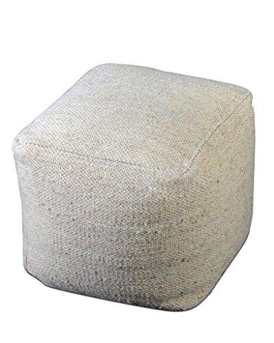 rugs2clear-fait-main-beige-clair-la-laine-sans-pour-autant-remplisseuse-muse-pouf-40cm-x-40cm-x-40cm
