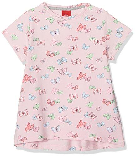 s.Oliver Baby-Mädchen T-Shirt 59.806.32.5209 Light Pink AOP 41a2, 86