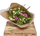 The Flower Rooms - Classic Mixed Bunch Flower Gift Wrap Birthday Flowers Congratulations Thank you Bouquets