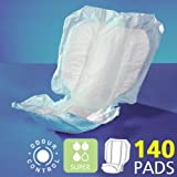Shaped Incontinence Pads - Super - Case Healthcare