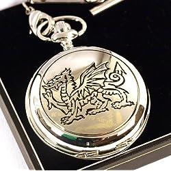 Welsh Dragon Pocket Watch