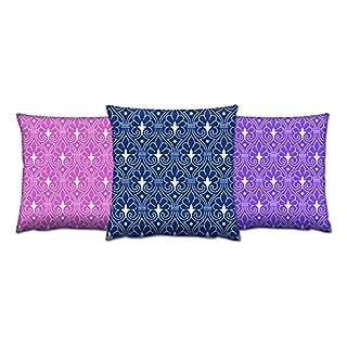 Asir Group LLC 417GRV0184Gravel Cushion Set-3Pieces Colourful