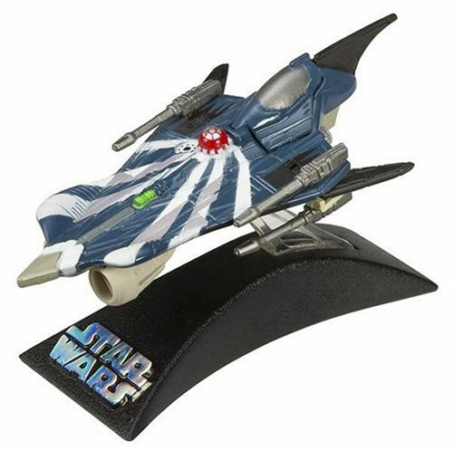 Star Wars Die Cast Titanium Serie - Anakin's Modified Clone Wars Jedi Starfighter