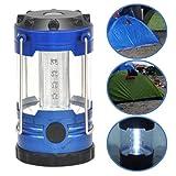 TOOGOO Blau 12 LED Mini Haengeleuchten Lagerlicht Zelten Lampe tragbares