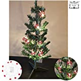 Decorative Buckets: BATTERY OPERATED STRING LIGHT WITH FREE CHRISTMAS TREE | CHRISTMAS TREE DECORATIVE BALLS |portable String Light | Christmas Tree Decorations | Christmas Ball | Christmas Light |battery Operated Lights | Christmas Tree Decorations | Chr