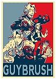 Instabuy Poster Monkey Island Propaganda Guybrush - A3 (42x30 cm)