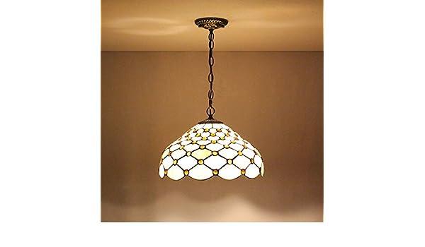 Lampadari E Plafoniere Tiffany : Global pollici tiffany art europeo semplice lampadario in vetro