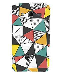 ColourCrust Samsung Galaxy Core Prime G360 Mobile Phone Back Cover With Abstract Style Modern Art - Durable Matte Finish Hard Plastic Slim Case