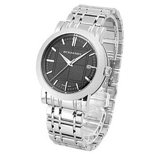 BURBERRY BU1364 - Reloj para hombres, correa de metal