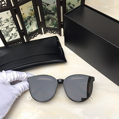 Unisex Sonnenbrille Für sanfte Monster-SonnenbrilleNew Gentle man or Women Monster eyeware V brand BLACK PETER 01 sunglasses for Gentle monster sunglasses -black frame black lens