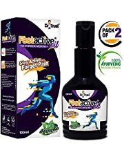 Dr Trust Fast Active Pain Relief Oil - 120 ml (Pack of 2) (