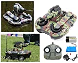 #3: MousePotato Amphibious Tank Transforms on Land & Water with 2.4GHz Remote & Water Canon