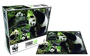 Wwf - 88 - Puzzle Classique - Pandas - 1000 Pièces