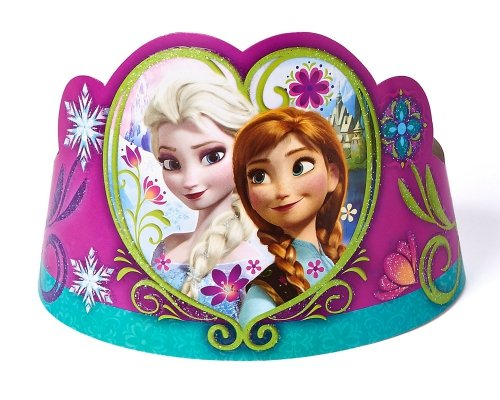 Tiara im Design von Elsa und Anna aus -
