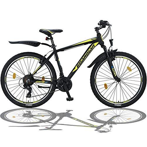 Talson 26 Zoll Mountainbike Aluminiumrahmen Fahrrad Shimano 21G Gabelfederung nach STVO SGELB 779