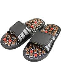 Home Care Wholesale® Sandales de réflexologie massage avec boutons d'acupression sur les pieds