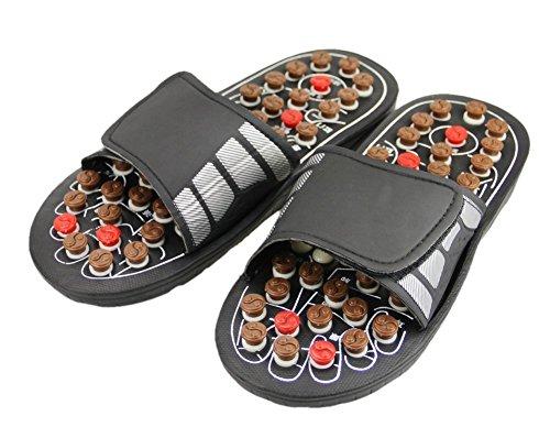Home Care Wholesale Fuß-Massage-Fussreflexzonenmassage-Sandalen mit Akupressurpunkte -