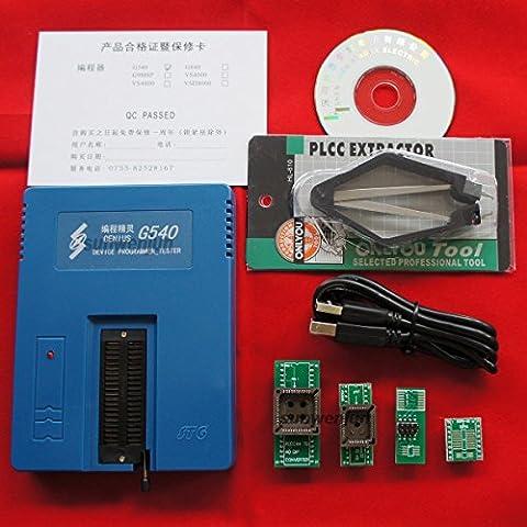 Genius G540 USB Universal Bios GAL Programmer EPROM FLASH 51 AVR PIC MCU SPI